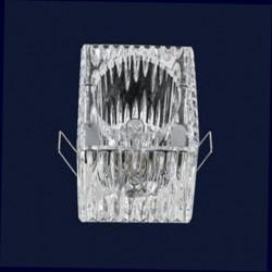 Точечный светильник (встраиваемый) 719009 G9+712 квадрат G9 70 CH Картинка