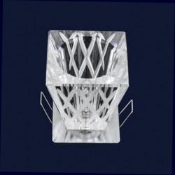 Точечный светильник (встраиваемый) 719015 G4+712 квадрат G4 60 CH Картинка