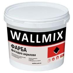 Акриловая краска для наружных работ Wallmix AF11 1л-1,5кг