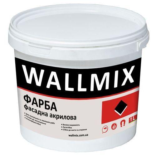 Акриловая краска для наружных работ Wallmix AF11 1л-1,5кг Картинка 1000101053