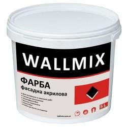 Акриловая краска для наружных работ Wallmix AF11 5л-7,5кг