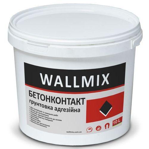 Грунтовка с кварцевым бетоноконтакт Wallmix 10л-15 кг Картинка 1000101046