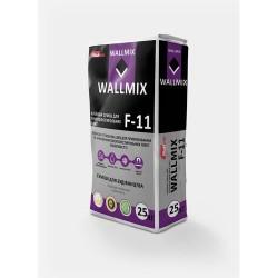 Клей для приклеивания и армировки пенополистерольных плит Wallmix F11 25 кг