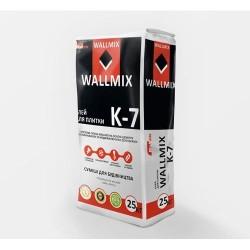 Клей для плитки для внутренних и наружных работ с повышенной адгезией Wallmix K7 25 кг