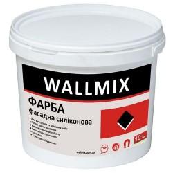 Силиконовая краска для наружных работ Wallmix SF12 10л-15 кг Картинка 1000101058