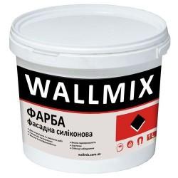 Силиконовая краска для наружных работ Wallmix SF12 1л-1,5кг
