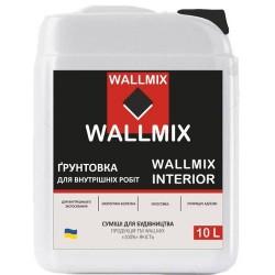 Интерьерная грунтовка Wallmix interior 10л-10кг