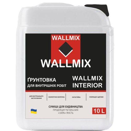 Интерьерная грунтовка Wallmix interior 10л-10кг Картинка 1000101049