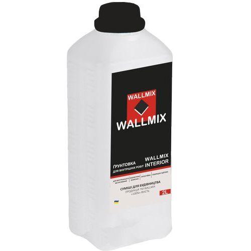 Інтер'єрна грунтовка Wallmix interior 2л-2кг Картинка 1000101047