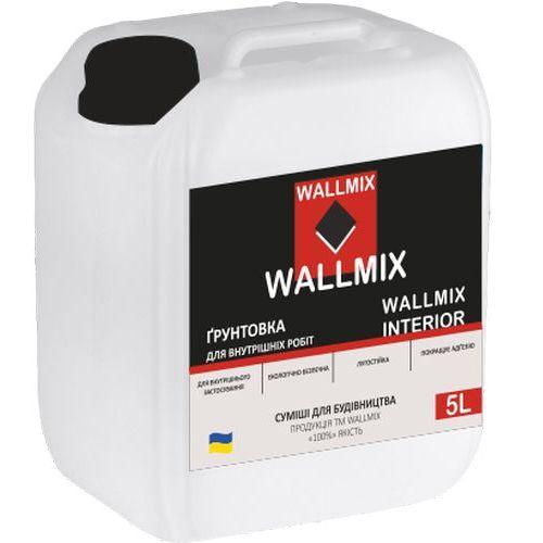 Інтер'єрна грунтовка Wallmix interior 5л-5кг Картинка 1000101048