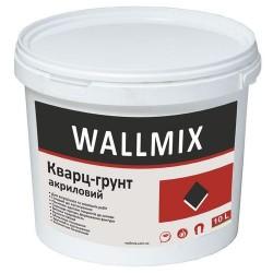 Грунтующая краска с кварцевым наполнителем для повышения адгезии к основанию Wallmix кварц 10л-15 кг