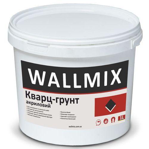 Грунтующая краска с кварцевым наполнителем для повышения адгезии к основанию Wallmix кварц 1л-1,5кг Картинка 1000101041