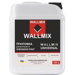 Универсальная грунтовка Wallmix universal 10л-10кг Картинка 1000101052