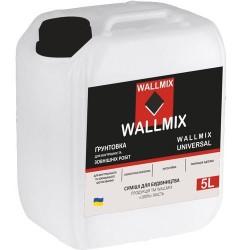 Универсальная грунтовка Wallmix universal 5л-5кг Картинка 1000101051
