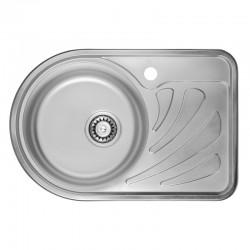 Кухонная мойка ULA 7111 L Micro Decor ULA7111DEC08L