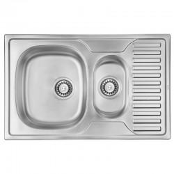Кухонная мойка ULA 7301 Micro Decor ULA7301DEC08