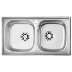 Кухонная мойка ULA 5104 Micro Decor ULA5104DEC08