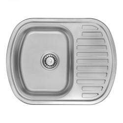 Кухонная мойка ULA 7704 U Micro Decor ULA7704DEC08
