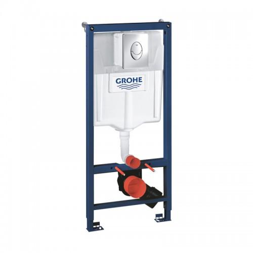 Інсталяція для унітазу Grohe Rapid SL комплект 3 в 1 38721001 Картинка 10020818