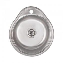 Кухонная мойка Lidz 4843 Satin 0,6 мм LIDZ484306SAT