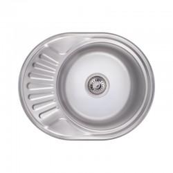 Кухонна мийка Lidz 6044 Polish 0,6 мм LIDZ604406POL