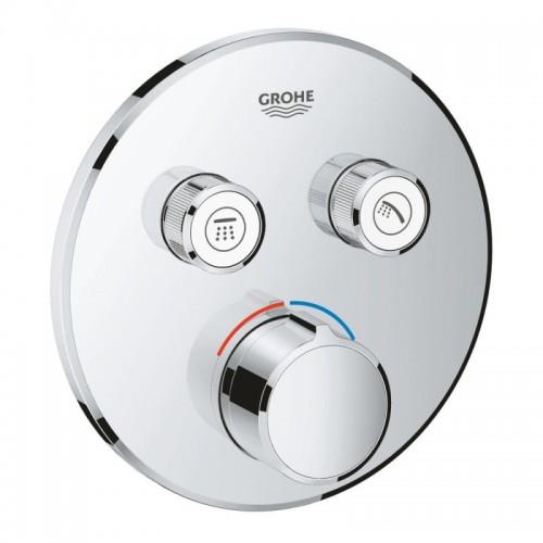 Внешняя часть смесителя для душа Grohe SmartControl 29145000 на два потребителя Картинка 10020707