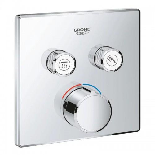 Внешняя часть смесителя для душа Grohe SmartControl 29148000 на два потребителя Картинка 10020708