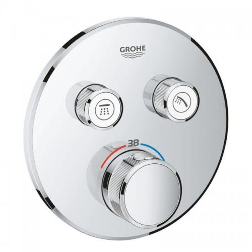 Внешняя часть термостатического смесителя для душа Grohe SmartControl 29119000 Картинка 10020720
