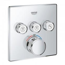 Внешняя часть термостатического смесителя для ванны Grohe Grohtherm SmartControl 29126000