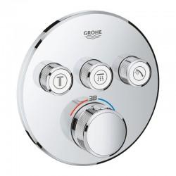 Внешняя часть термостатического смесителя для ванны Grohe Grohtherm SmartControl 29121000