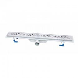 Трап линейный Qtap Dry FC304-700 с нержавеющей решеткой 700х73 Картинка 100201466