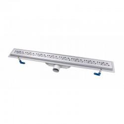 Трап линейный Qtap Dry FC304-800 с нержавеющей решеткой 800х73 Картинка 100201467