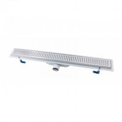 Трап линейный Qtap Dry FB304-800 с нержавеющей решеткой 800х73 Картинка 100201463
