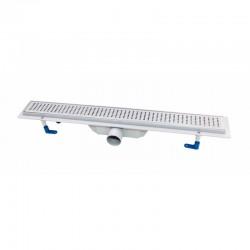 Трап линейный Qtap Dry FB304-900 с нержавеющей решеткой 900х73 Картинка 100201464