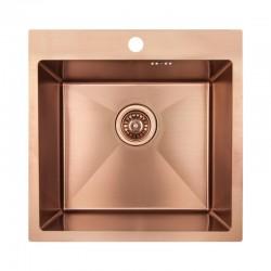 Кухонная мойка Imperial Handmade D5050BR 2.7/1.0 мм IMPD5050BRPVDH10