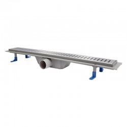 Трап линейный Qtap Dry FA304-700 с нержавеющей решеткой 700х73 Картинка 100201458