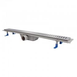 Трап линейный Qtap Dry FA304-800 с нержавеющей решеткой 800х73 Картинка 100201459