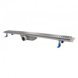 Трап линейный Qtap Dry FA304-900 с нержавеющей решеткой 900х73 Картинка 100201460
