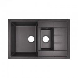 Кухонная мойка Lidz 780x495/200 BLA-03 LIDZBLA03780495200