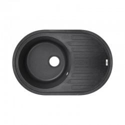 Кухонна мийка Lidz 780x500 / 200 BLA-03 LIDZBLA03780500200