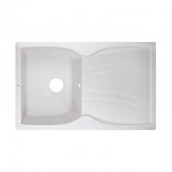 Кухонная мойка Lidz 790x500/200 WHI-01 LIDZWHI01790500200