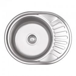 Кухонная мойка Lidz 5745 Micro Decor 0,6 мм LIDZ5745MDEC06