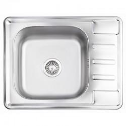 Кухонна мийка Lidz 6350 Satin 0,8 мм LIDZ6350SAT8