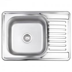 Кухонная мойка Lidz 6950 Satin 0,8 мм LIDZ6950SAT8
