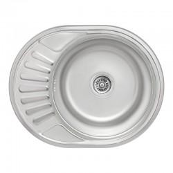 Кухонная мойка Lidz 5745 Micro Decor 0,8 мм LIDZ5745MDEC