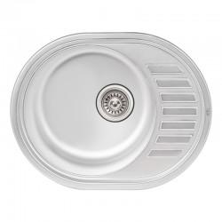 Кухонная мойка Qtap 5745 Micro Decor 0,8 мм QT5745MICDEC08