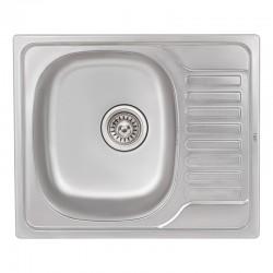Кухонная мойка Qtap 5848 Micro Decor 0,8 мм QT5848MICDEC08
