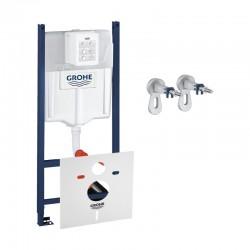 Инсталляция для унитаза Grohe Rapid SL комплект 3 в 1 3884000G