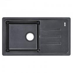 Кухонная мойка Lidz 780x435/200 BLA-03 LIDZBLA03780435200