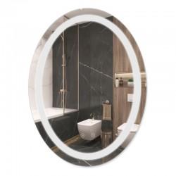 Зеркало Qtap Mideya с антизапотеванием 600х800 QT2078B8051W